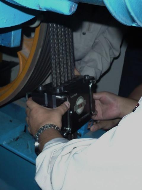 钢丝绳测试