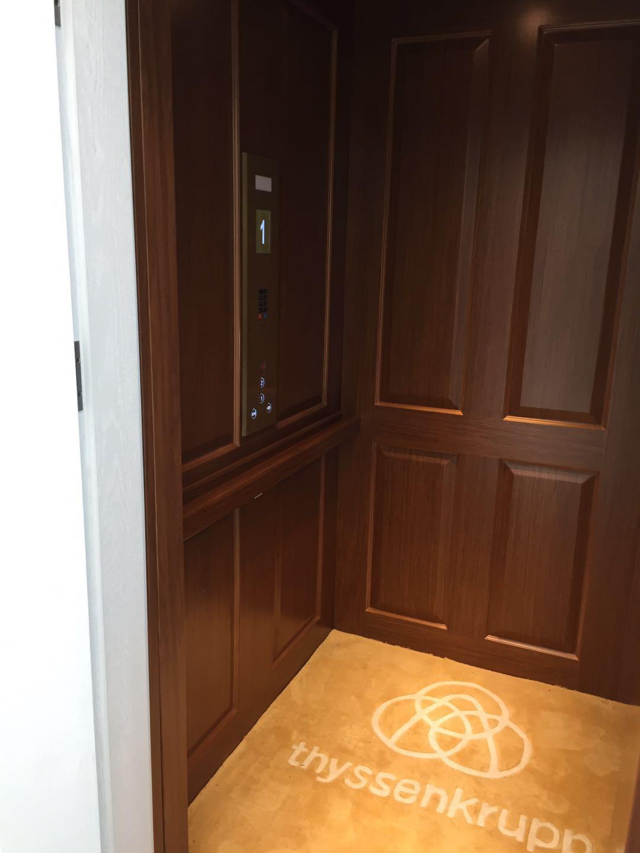 蒂森克虏伯家用电梯【鲸蓝机电——郑州展厅】开放体验啦!