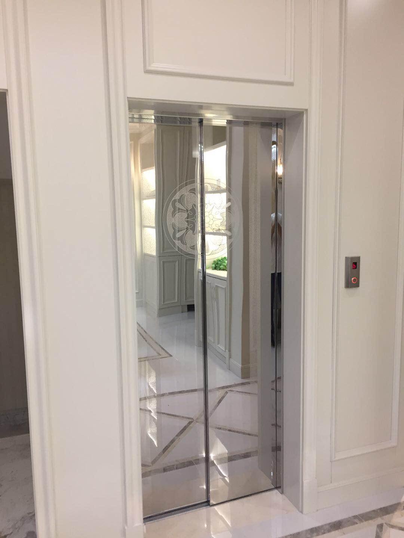 蒂森克虏伯家用电梯有多种产品装潢可供选择,无论是内饰还是按键都可